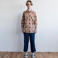 LEVI'S ロデオシャツ BROWN CHECK PRINT
