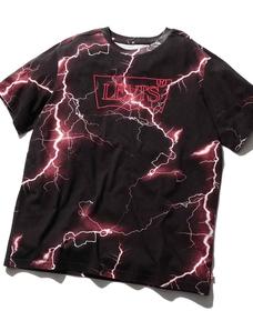 STRANGE バットウィングロゴTシャツ LIGHTNING METEORITE