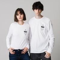 グラフィックロングスリーブTシャツ WHITE