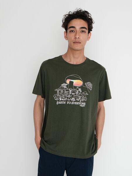 GRAPHIC CREWNECK Tシャツ SSNL MV LOGO FILL D