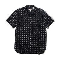 ショートスリーブシャツ SCHOOLDAZE BLACK