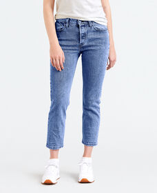 LEVI'S®MADE&CRAFTED® 501® CROP DUNE BLUE STRETCH