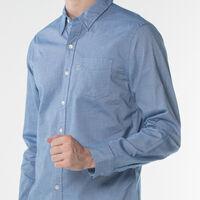 サンセットワンポケットシャツ-サックスブルー/TrueBlueXX