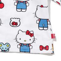 グラフィックオーバーサイズTシャツ HELLO KITTY WHITE
