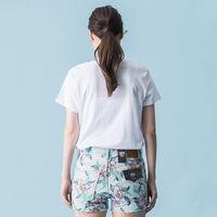 パーフェクトTシャツ HSMK POWDER PRINT WHITE