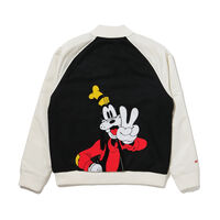 DISNEY PADDED ボンバージャケット DISNEY BLACKW/MARSHMALLOW