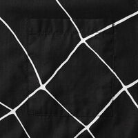 WEB SHIRT BLACK WEB BLACK AND WHITE
