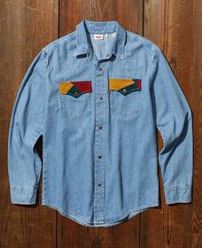 70'S デニムシャツ TIPPER TONE