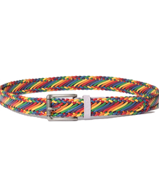RAINBOW PRIDE BRAID BELT
