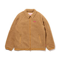 BOA FLEECE JACKET CAMEL