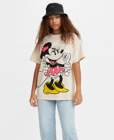 DISNEY S/S Tシャツ MARSHMALLOW
