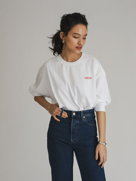 GRAPHIC LS ROADTRIP Tシャツ ROLLING HILLS WHITE