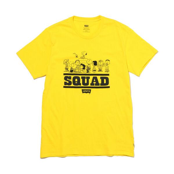 グラフィックTシャツ PEANUTS SQUAD