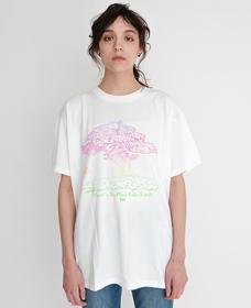 GRAPHIC SS ROADTRIP Tシャツ TREE WHITE GRAPH