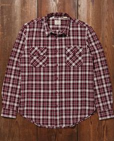 ショートホーンシャツ SHORTHORN PLAID OXBLOOD