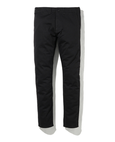 CHINO BLACK STR TWILL WT