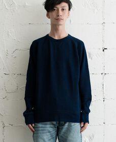 オリジナルクルーネックシャツ-DARKINDIGOxx