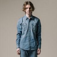 バーストゥーウエスタンシャツ/CONEMILLS7.8ozデニム