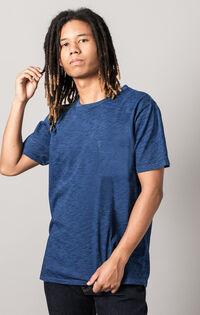 ポケットTシャツ WASHED BLUE INDIGO