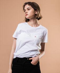 ポケットTシャツ-WHITE
