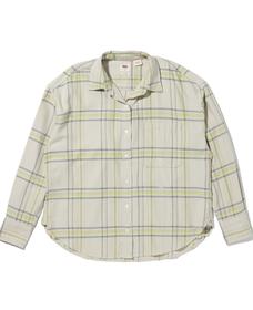 リラックスシャツ WHITTIER ALMOND MILK