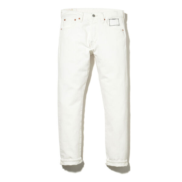 501® SLIM TAPER WHITE DENIM JT