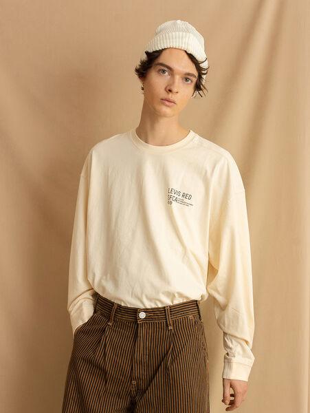 LR LS Tシャツ ECRU