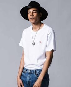 リーバイスロゴTシャツ COTTON + PATCH WHITE