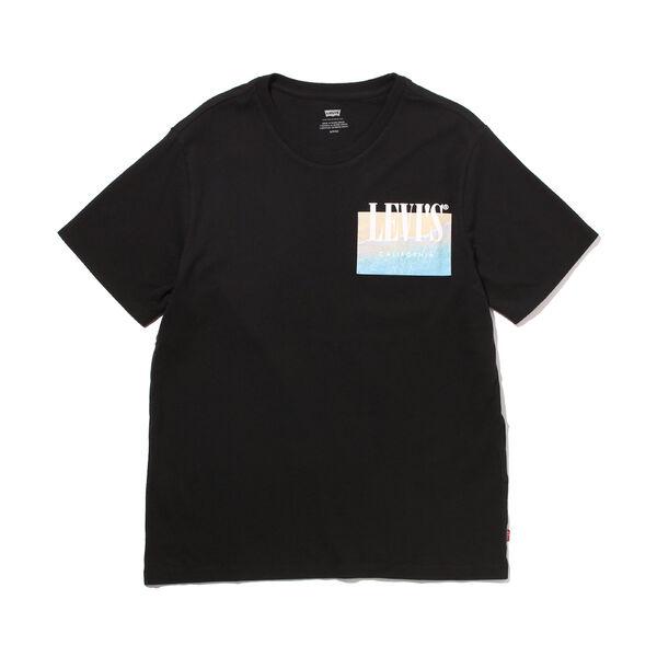 グラフィッククルーネックTシャツ SSNL PHOTO LC MINERAL BLACK