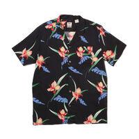 キューバシャツ ANDRES CAVIAR PRINT