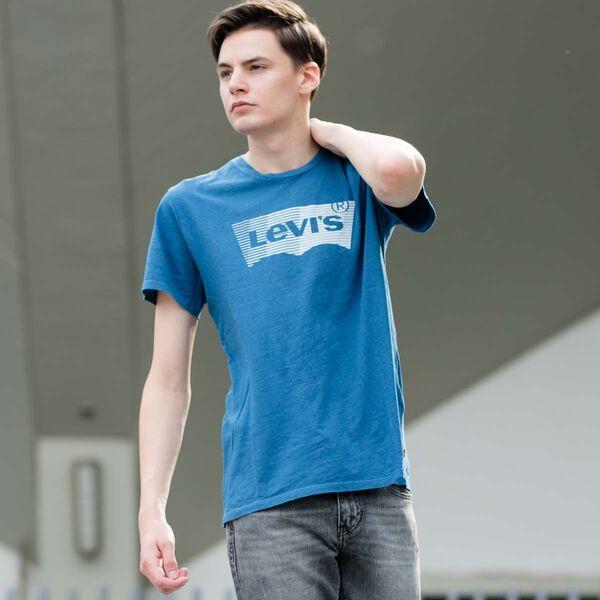 グラフィックTシャツ INDIGO LIGHT