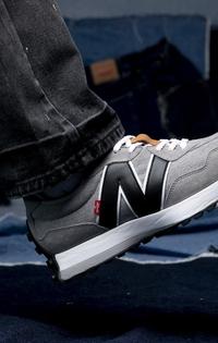 Men's 327 Sneaker (Gray)