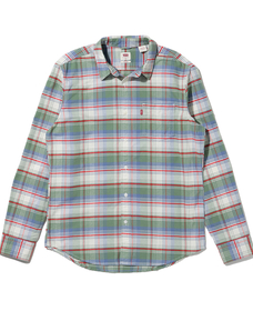 SUNSET 1ポケットシャツ STANDARD AZRIEL Hedge Green