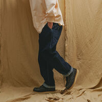LR RELAXED TAPER TROUSER OX RINSE