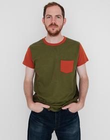 1950'S SPORTSWEAR Tシャツ LVC GREEN RUST