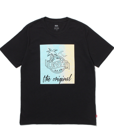 グラフィッククルーネックTシャツ PHOTO MINERAL BLACK