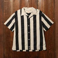 FLAG SHIRT BLACK WHITE
