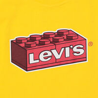 リラックスTシャツ LEGO BRICK YELLOW