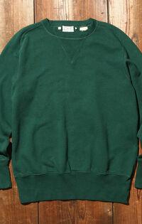 BAY MEADOWS スウェットシャツ BOTTLE GREEN