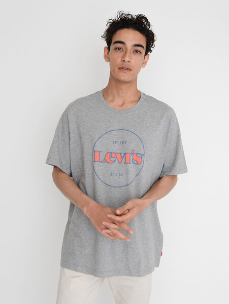 SS RELAXED FIT Tシャツ SSNL MV LOGO MIDTONE