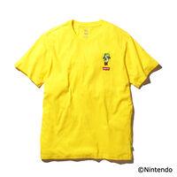 グラフィッククルーネックTシャツ YOSHI LC PATCH T2 YELLOW