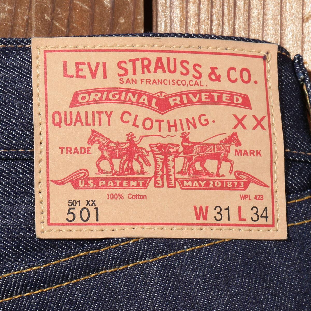 リーバイス LVC 501 1966モデル