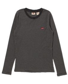 ロングスリーブ BABY Tシャツ AGNES STRIPE FORGED IRON