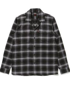 SKATE ロングスリーブワークシャツ BURTON MULTI PLAID