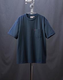 MIU BOXY Tシャツ DRESS BLUES