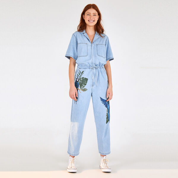 FARM UTILITY JUMPSUIT FOREST CANOPY