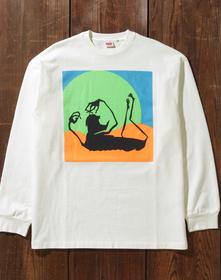80'S LS GRAPHIC Tシャツ FREAKY