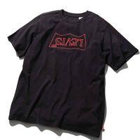 STRANGE バットウィングロゴTシャツ METEORITE GRAPHIC