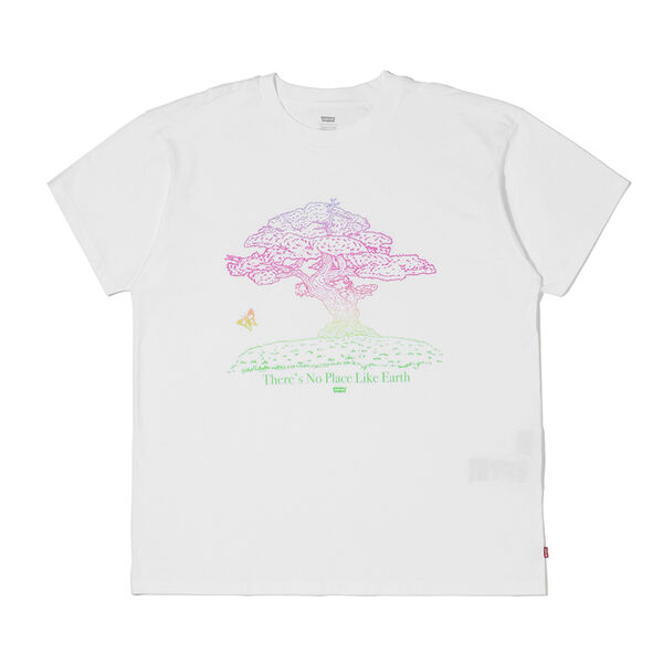 GRAPHIC SS ROADTRIP Tシャツ TREE WHITE GRAPH