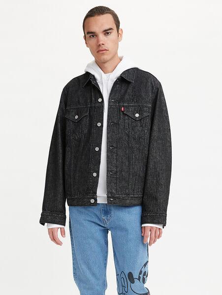DISNEY トラッカージャケット DISNEY BLACK